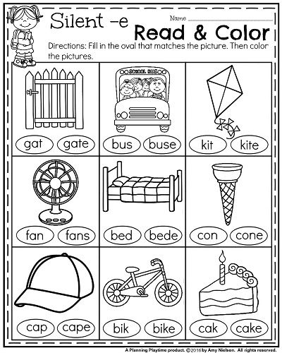 Worksheets Read And Color Worksheets 25 best ideas about reading worksheets on pinterest 1st grade math and literacy with a freebie