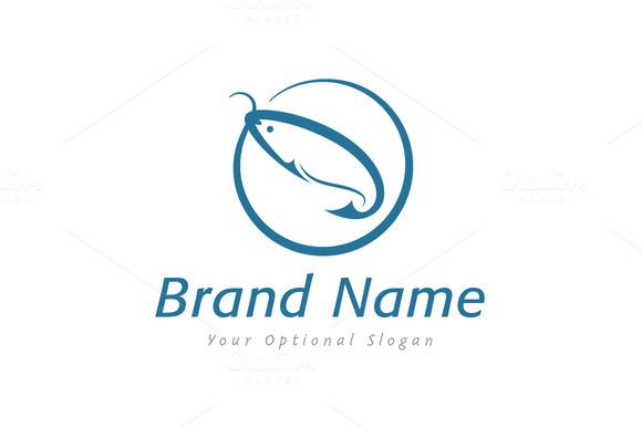 For sale. Only $29  #simple #blue #circle #clever #water #sharp #food #river #fish #sport #creative #tool #sea #ring #equipment #gear #angle #lake #marine #fishing #catch #hook #bait #angling #fiber #fin #trout #salmon #logo #design #template