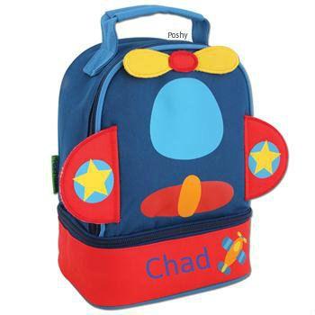 Personalized Boys Lunch Box Bag Stephen by StephenJosephByPoshy