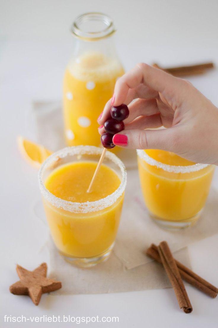 Zimt Orangen Weihnachtstrunk von Frisch Verliebt