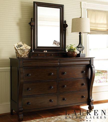 Bedroom Furniture, Willowwood Road Sugarberry Dresser/Mirror - Pine, Bedroom Furniture | Havertys Furniture