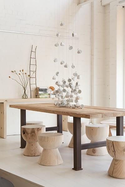 Une ambiance #bois pour la salle à manger..  #wood #déco  http://www.m-habitat.fr/par-pieces/salon-et-salle-a-manger/les-meubles-de-salle-a-manger-2704_A
