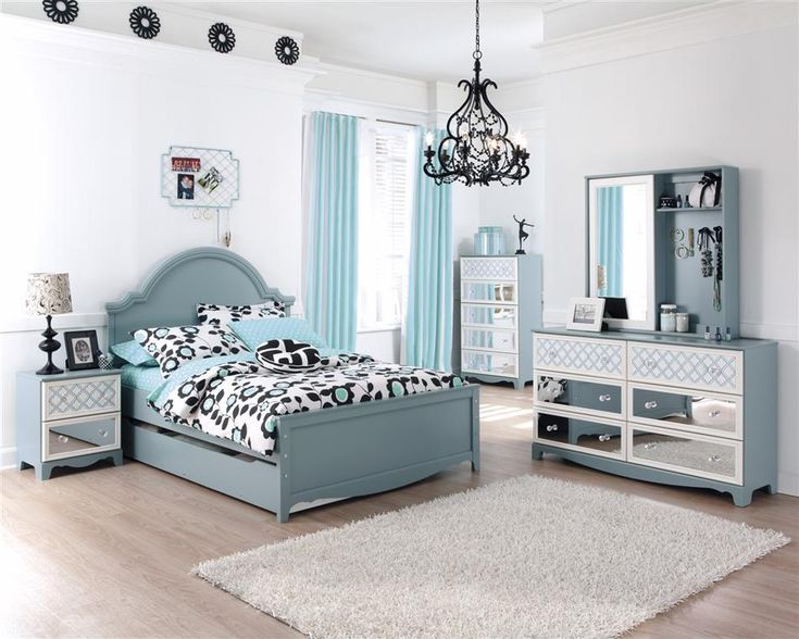 Tiffany Blue Teen Bedroom Ideas