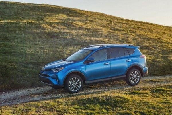 The Toyota Company presented new RAV4 Hybrid 2015.  Toyota presented on a showroom in New York the updated RAV4 crossover in the hybrid version — for the first time in the history of model.