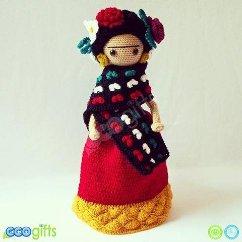 Frida Kahlo Versión de Colección.... México Lindo   ❤