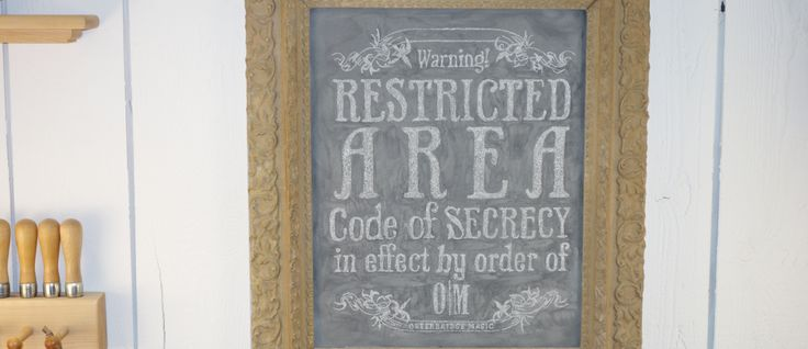 We take our Secrecy, Seriously!