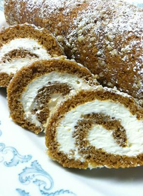 Pumpkin Roll - I made this dessert from an original Libby's recipe today and it was delicious. I did adjust the spices a little for my tastes, but over all a winner. Find a link at my website and enjoy! Aloha Glenn