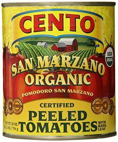 """homemade marinara tomato sauce I thought I'd show everyone how I make my family's favorite pasta sauce. I use this sauce for everything - my pizzeria style pizza, spaghetti, lasagna, stuffed shells, eggplant parmesan, meat sauce.... I even use it as a base for my chili. I start with a huge can of San Marzano Tomatoes. They are, without question, the very best. Some good brand names to look for are Cento, Muir Glen, Sclafani, Tuttorosso, or any San Marzanos that list """"DOP"""" on the l..."""