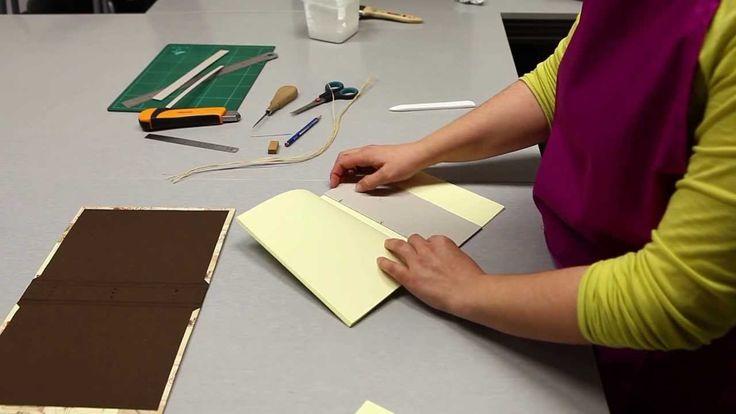 Tutorial - Cuaderno Bradel by Cartoné