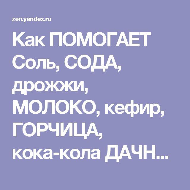 Как ПОМОГАЕТ Соль, СОДА, дрожжи, МОЛОКО, кефир, ГОРЧИЦА, кока-кола ДАЧНИКАМ в саду и ОГОРОДЕ | Лайфхак - Полезные советы | Яндекс Дзен