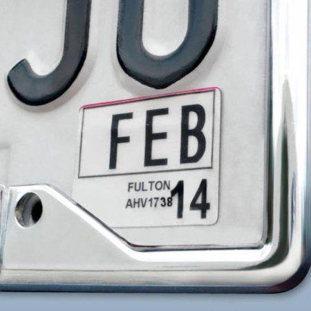NHL St. Louis Blues License Plate Frame, Silver