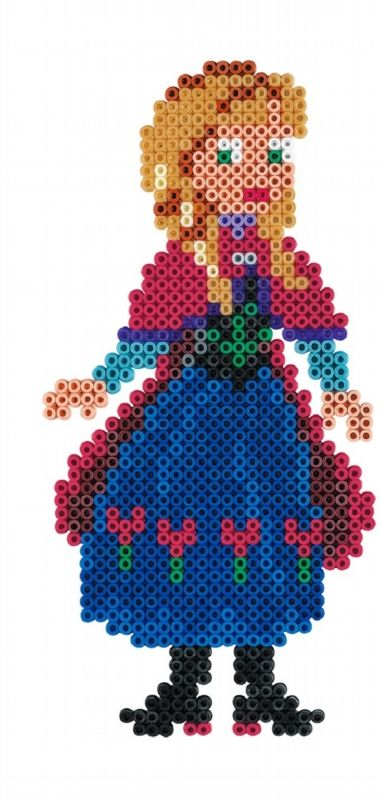 Princess Anna - Disney Frozen Large Gift Set Hama Beads 7946