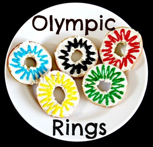 Olympic Circle Food {recipe how to}