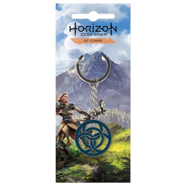 Horizon Zero Dawn Metall Schlüsselanhänger Clan