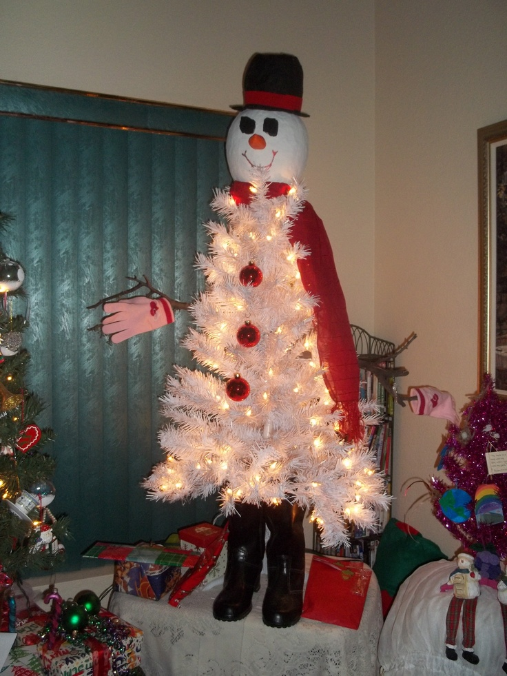 Whimsical Artificial Christmas Trees