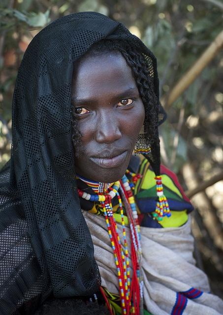 Mulher da tribo Karrayyu, Etiópia *Woman from the  Karrayyu tribe, Ethiopia