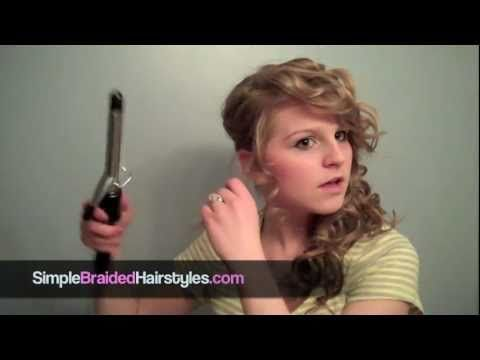 http://www.youtube.com/watch?v=HdrZH3IMHzQ - Here is a pretty side swept curls or ponytail hairstyle. Visit http://www.simplebraidedhairstyles.com for free videos. http://www.simplebraidedhairstyles.com/taylor-swift-side-ponytail-with-curls-prom-weddings-side-swept-hairstyles/