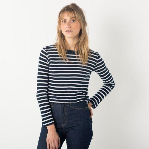 Ami Top - Navy Stripe