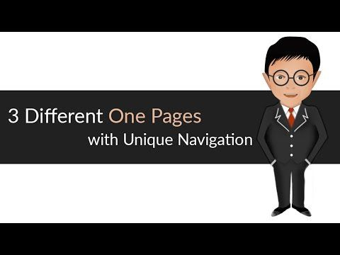 One page website | HTML CSS | one page responsive website | IN SuperFine