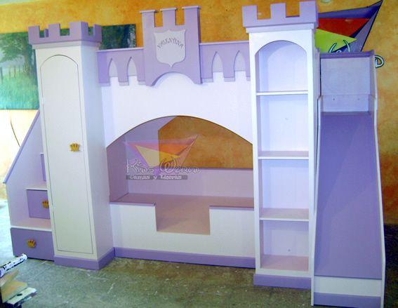 Literas divertidas camas infantiles con formas divertidas - Camas infantiles divertidas ...