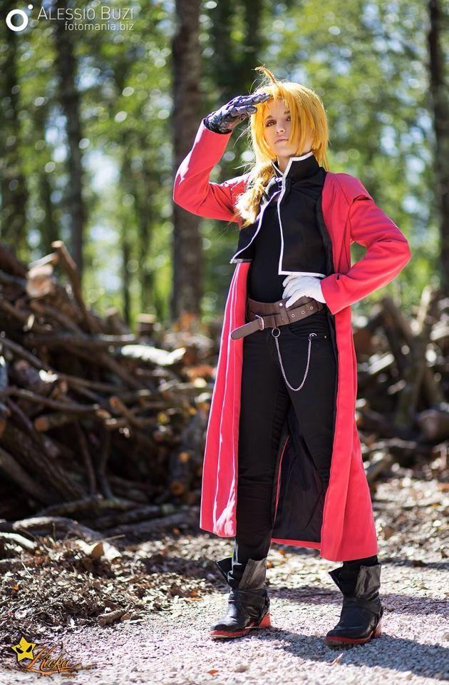 Kicka Cosplay - Edward Elric - Fullmetal Alchemist - Photo by Fotomania