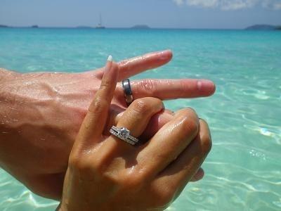 Honeymoon photo op :)