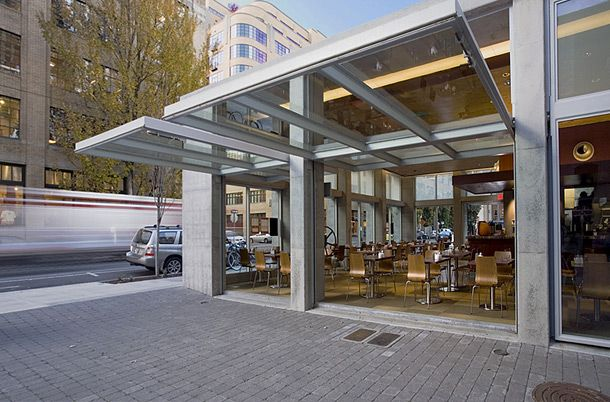 Isabel Restaurant Doors By Turner Exhibits Glazed