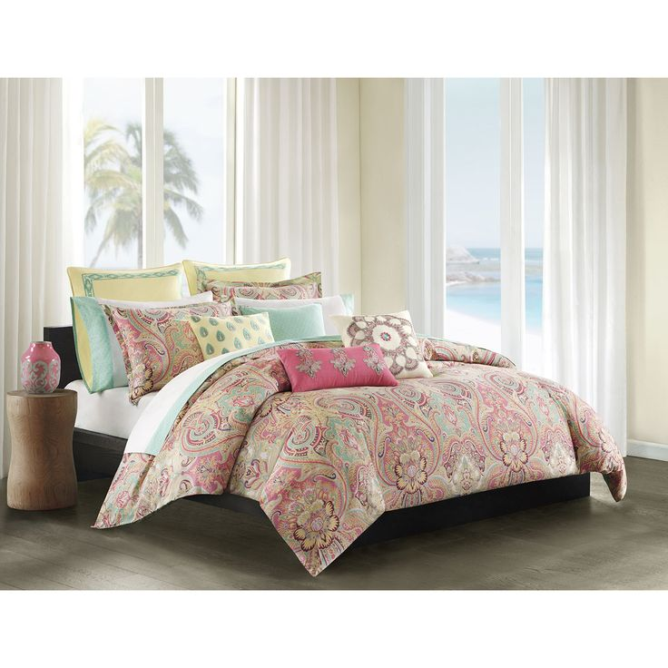 The Intricate Pattern Of Echo Design S Guinevere Brings These Soft Pastels To Life For Your E