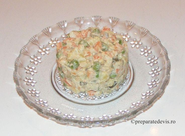 Salata a la russe de post