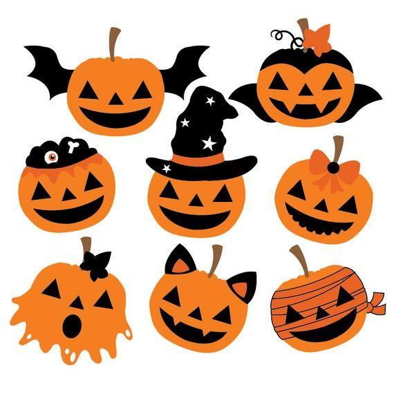 Sorcière Halloween clipart et vecteur ensemble parfaits pour vos décorations, …