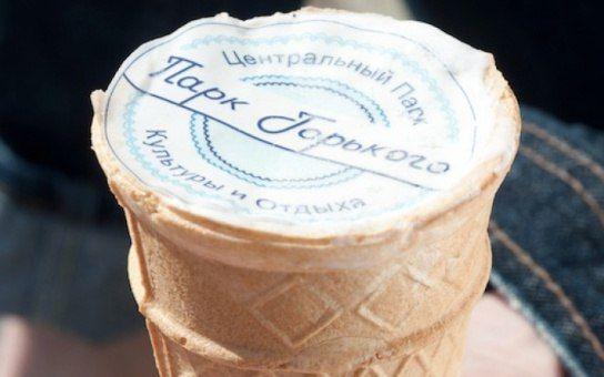 Домашнее мороженое, вкус советского пломбира.