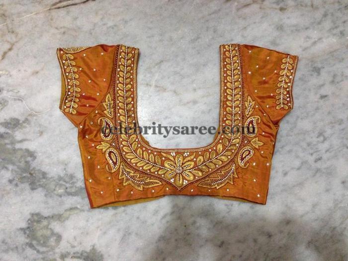 Simple Work Blouses for Silk Sarees | Saree Blouse Patterns