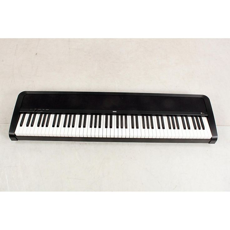 Korg B1SP 88 Keys Digital Piano with Stand and 3-Pedal Unit Black 190839075246