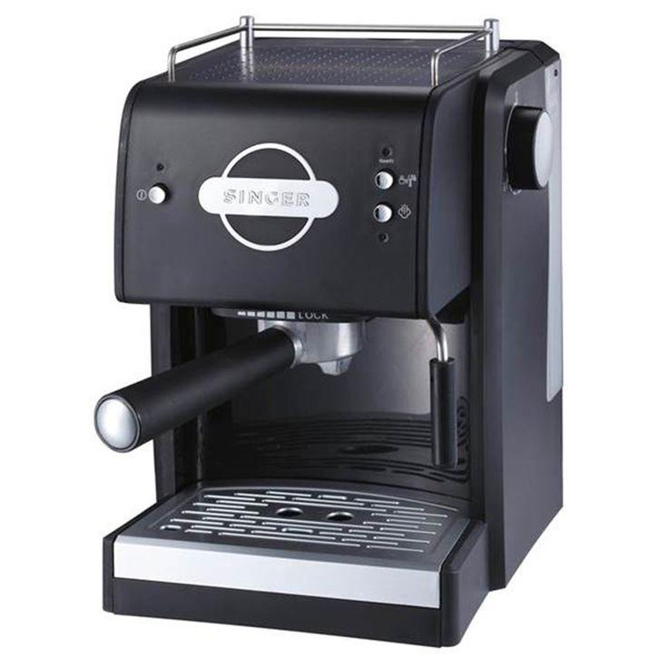 Μηχανή Espresso Singer ES-110 (15Bar/1100Watt)- ElectroStudio