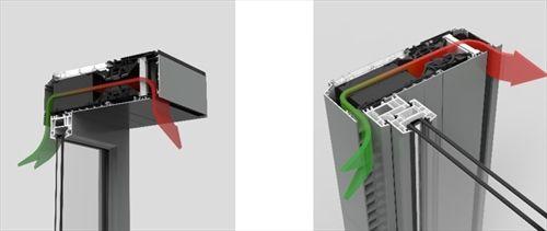 Endura Twist, Dezentrale Fensterlüftung mit Wärmerückgewinnung :: RENSON