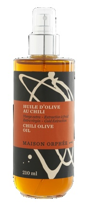 I tried this oil from Maison Orphee where the olive was pressed with the chili. Much stronger taste than the typical infused oils gathering dust on supermarket shelves.
