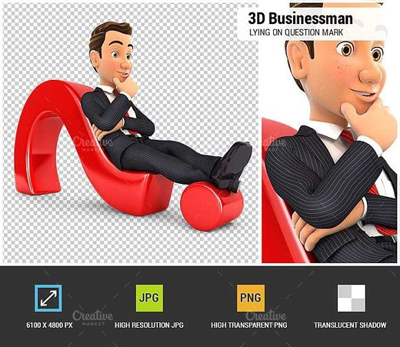 3d Businessman Question Mark Business Man This Or That Questions Question Mark