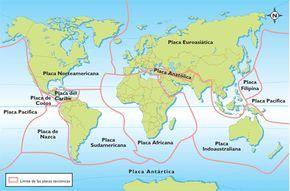 Las placas tectónicas son gigantescas placas o bloques que forman la capa externa de la tierra sólida. Estos bloques están en constante movimiento y pueden