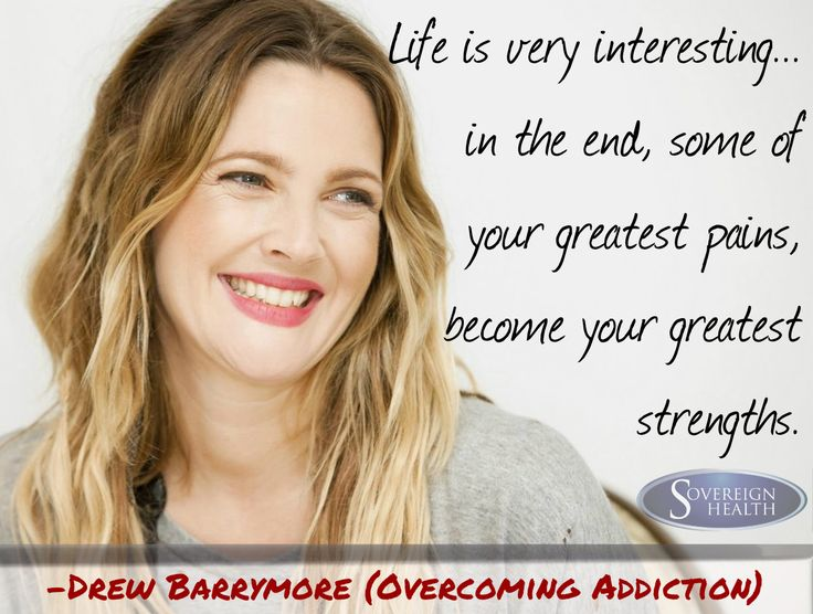 Drew Barrymore has successfully and gracefully overcome addiction to drugs & alcohol and is an inspiration to all who struggle with addiction.  If you're interested in seeking help for an addiction reach out to our live chat operators 24/7: www.SovCal.com/Chat/  #Sober #Sobriety #SobrietyQuotes #SoberCelebrities #SoberCelebrity #SoberActress #Recovery #Addiction #DualDiagnosis #Life #LifeQuotes #Drugs #Alcoholic #AntiDrugs #SoberTeens #DrugAbuse #DrugAwareness #Overcome