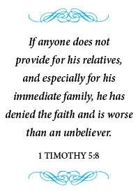 1 Timothy 5:8