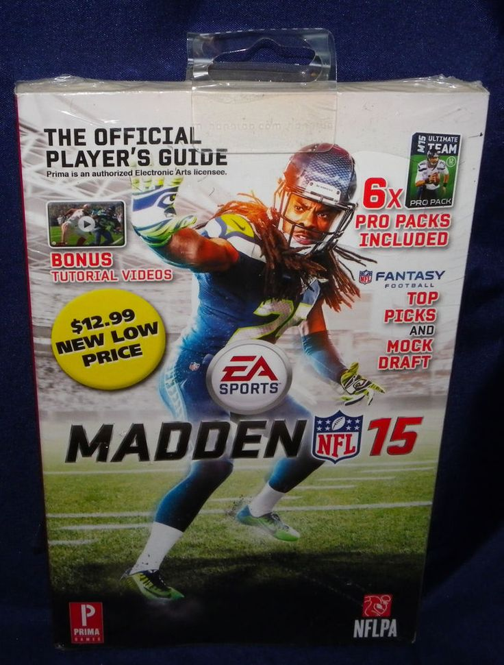 NEW Madden NFL 15 Official Players Guide Bonus Videos 6X