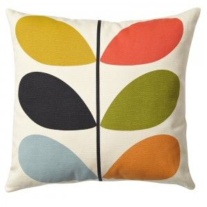 Coussin Orla Kiely Multi Stem multicolore    http://www.ideesboutique.com/coussins/8331-coussin-orla-kiely-multi-stem-multicolore.html