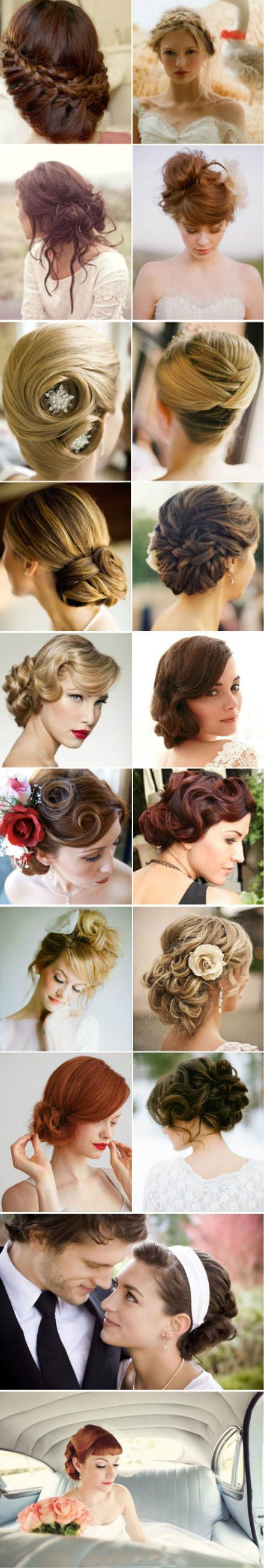 Best Classic Bride Images On Pinterest Bridal Hairstyles - Classic elegant hairstyle