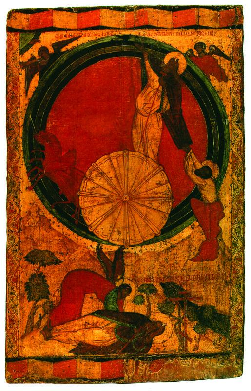 XVI в.  Огненное восхождение Ильи Пророка.