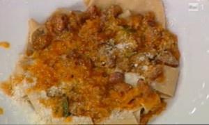 pappardelle con farina di castagne cu cinghiale ricette la prova del cuoco