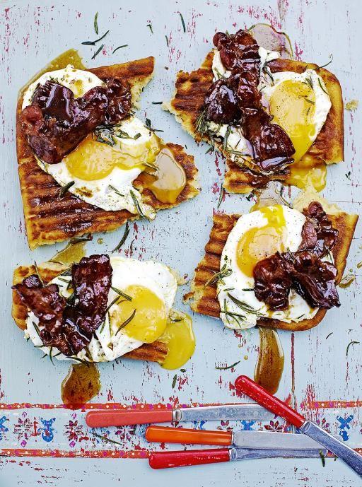 Griddle Pan Waffles   Egg Recipes   Jamie Oliver