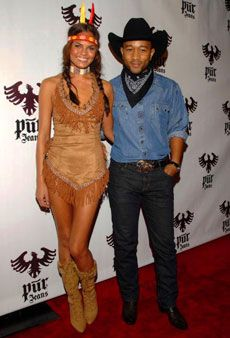 Halloween Costume Dos u0026 Donu0027ts. Cowboy And Indian ...  sc 1 st  Pinterest & 9 best Fall outdoor decor images on Pinterest | Make up Make up ...