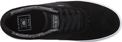 Circa Men's Gravette Black/White 11 D US: Bring clean style to your repertoire with the skate-ready C1RCA® Gravette shoe! David Gravette…