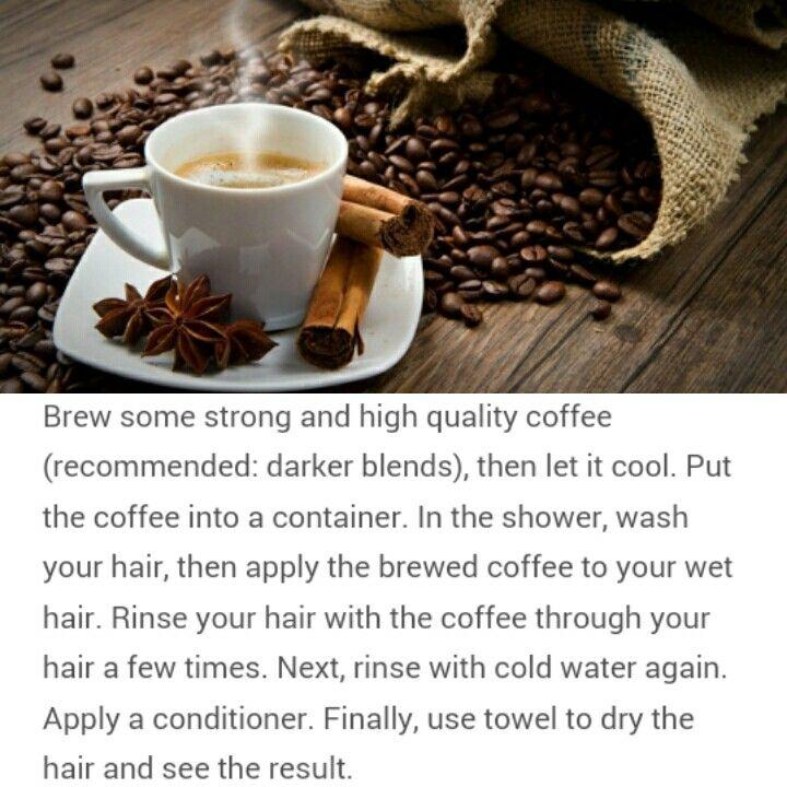 How To: Naturally Darken Hair (no dye needed)