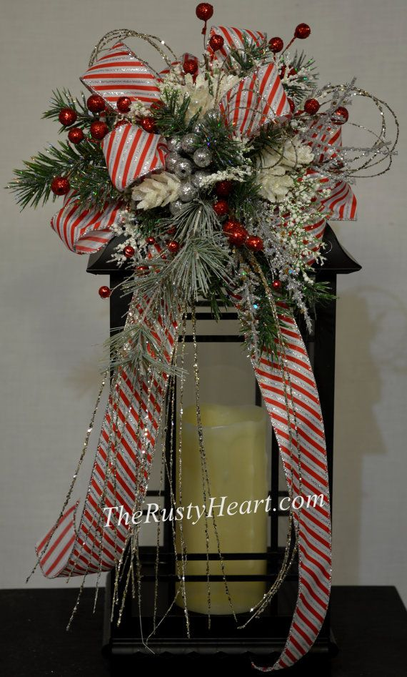 christmas lantern swag the rusty heart pinterest christmas lanterns christmas and lanterns